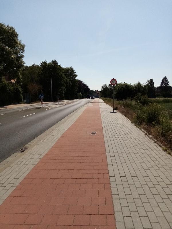 Rad- und Gehweg in Heinsberg